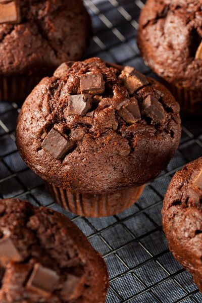 Muffins-Double Chocolate.