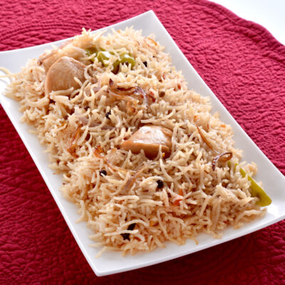 Chicken Pulao Recipe - - A Delicious Dish From SouthEast Asia